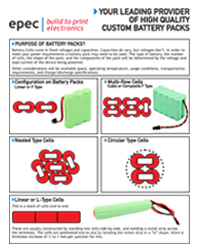 Batteries and Custom Battery Packs Design Guide - by Epec Engineered Technologies