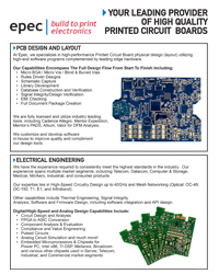 Printed Circuit Board Layout and Design - by Epec Engineered Technologies