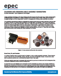 Changing and Crossing Cable Assembly Connectors