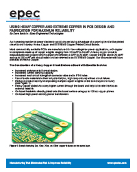 Using Heavy Copper and EXTREME Copper in PCB Design and Fabrication for Maximum Reliability