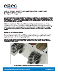 How RF Trends in Electronics Are Impacting Connectors