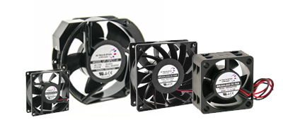 AC and DC Axial Fans
