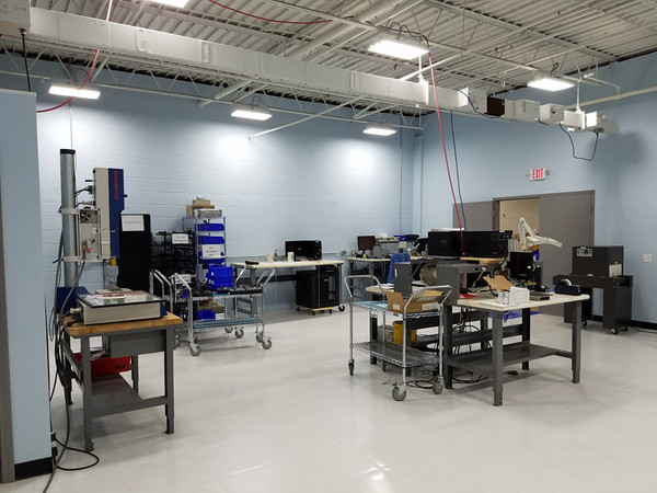 Battery Assembly Room with 5s and Lean Programs