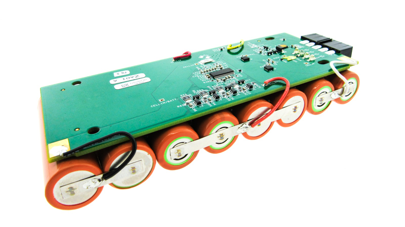 Battery Pack with Integrated Management System