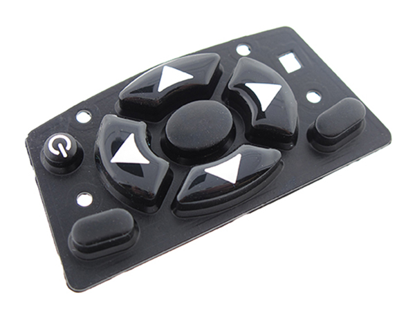Conductive Rubber Keypad - Front View