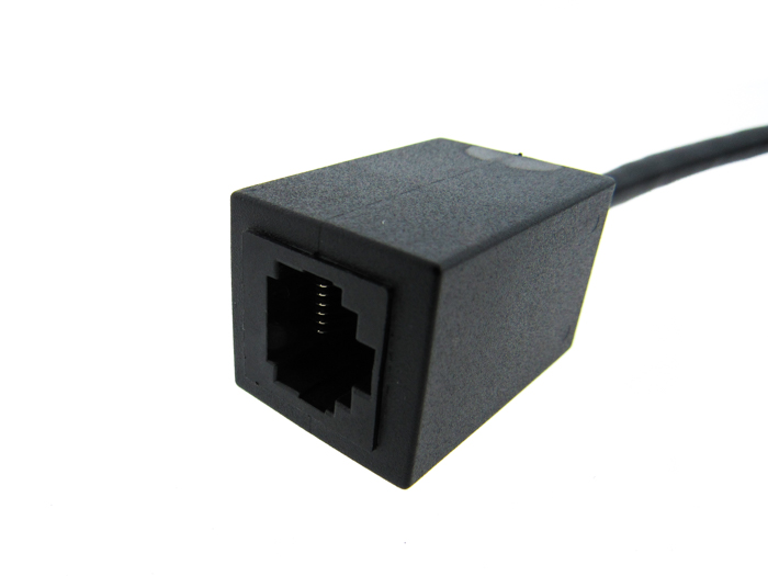 Custom manufactured ethernet cable female connector