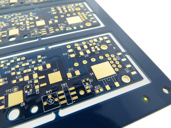 Printed Circuit Board with Electroless Nickel Immersion Gold (ENIG) Surface Finish