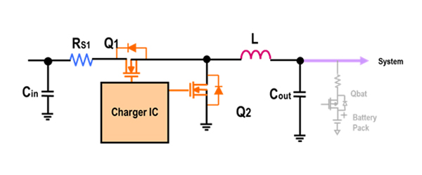 Embedded Battery Charger IC Diagram