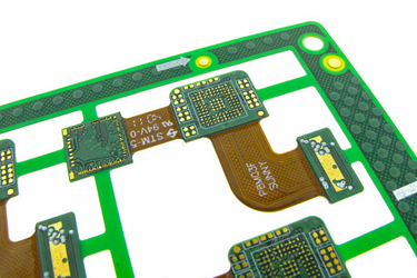 Latest Material and Construction Methods Provide the Highest Quality Rigid-Flex PCB's