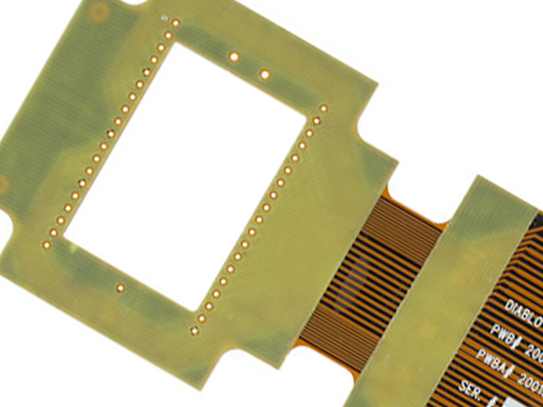 Flex PCB with Ccomponent Stiffeners