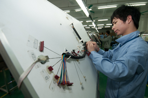 custom cable assemblies and wire harness manufacturing process Engine Wiring Harness