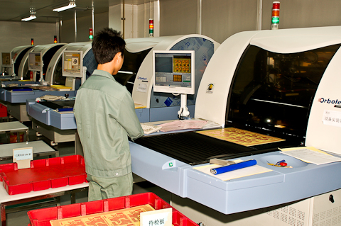 PCB Automated Optical Inspection (AOI)