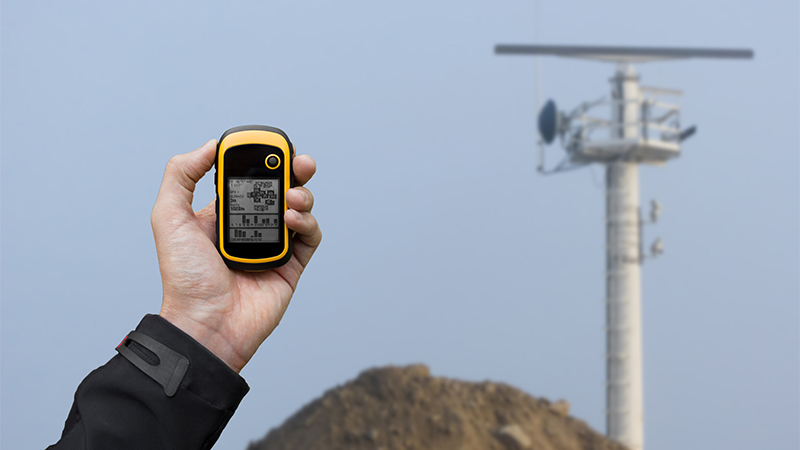 GPS Device Communicating with Control Tower