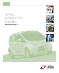 Linear Tech - Battery Charger Management Solutions