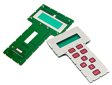 High Reliability Membrane Switch with Backed Rigid Printed Circuit Board