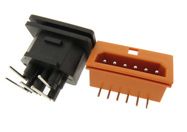Commercial off-the-shelf cable connectors.