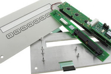 Reverse Engineered Membrane Switch Assembly