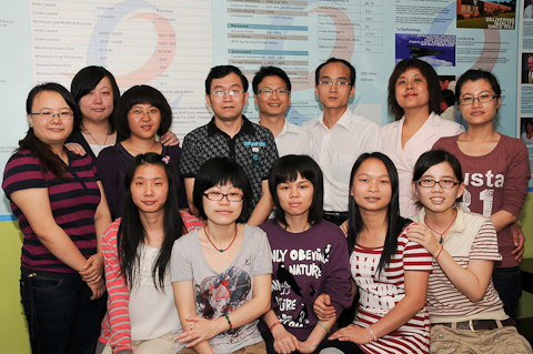 Epec's Shenzhen Operation Team