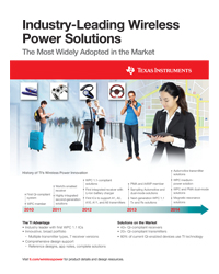 Texas Instruments - Wireless Power Solutions