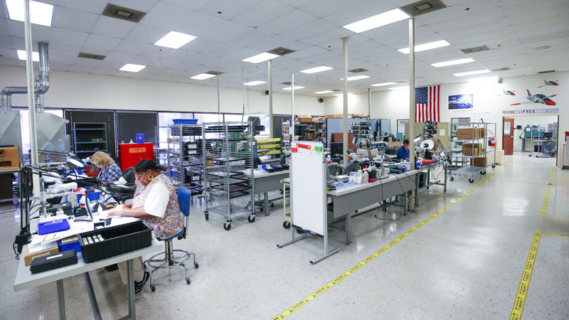 US Manufacturing Facility for RF Products
