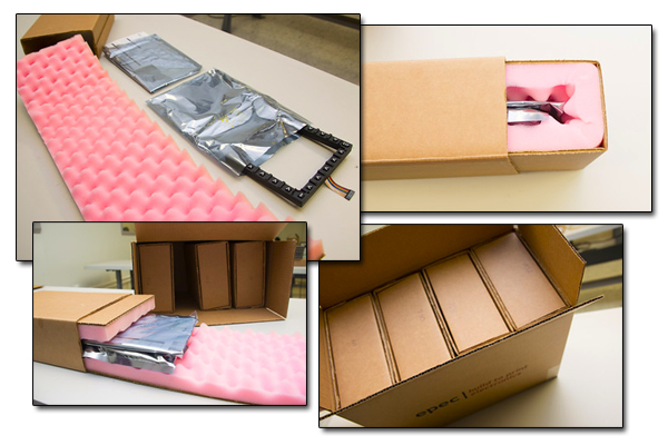 Individual Packaged Static Sensitive Electronic Components