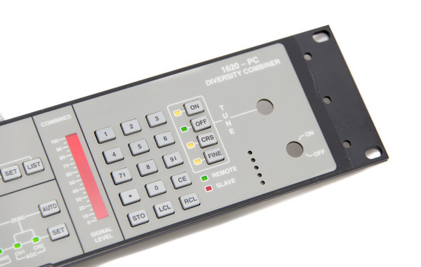 User Interfaces with Molded Plastic Pushbuttons - Front View